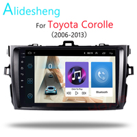 2.5D 2Din Android 8.1GO car dvd Multimedia player GPS for Toyota Corolla E140/150 2006 2007 2009 2010 2011 navigatio WiFi BT