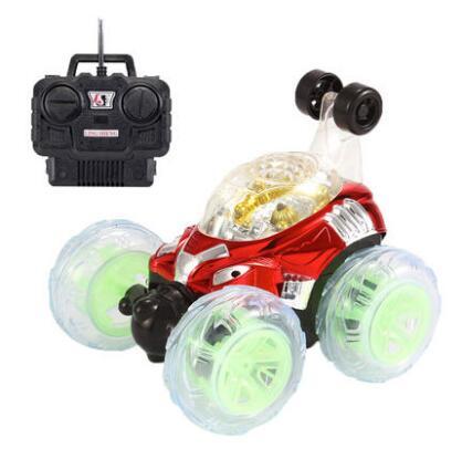 Детские большие игрушки дистанционного управления автомобилем флип трюк автомобиль удаленного самосвал Пряжка Электрический привод тележки