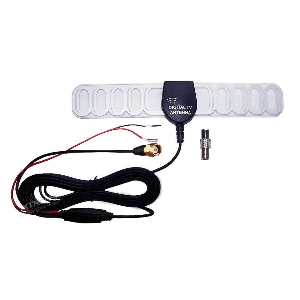 In Car DVB-T Freeview Digital Amplifier TV Antenna Built-in Amplifier 25 db Signal Booster To Boost The TV Signal
