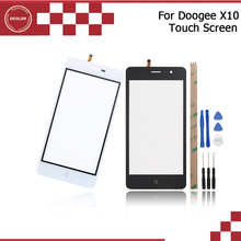 5.0inch For Doogee X10 Touch Panel 100% Original Touch Screen Digitizer Sensor Replacement For Doogee X10 With Tools+Adhesive