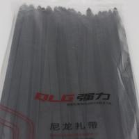 100Pcs Pack 10 400mm High Quality Width 9 0mm Black Color National Standard Plastec Self Locking