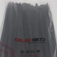 100Pcs Pack 10 400mm High Quality Width 9 0mm Black Color National Standard Plastec Self Locking