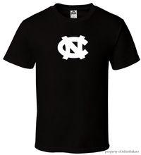 UNC - Black T-Shirt Fan Logo North Carolina Tar heels University All Sizes S-3XL Harajuku Tops t shirt Fashion Classic Unique north carolina adjutant general s dept register of north carolina troops