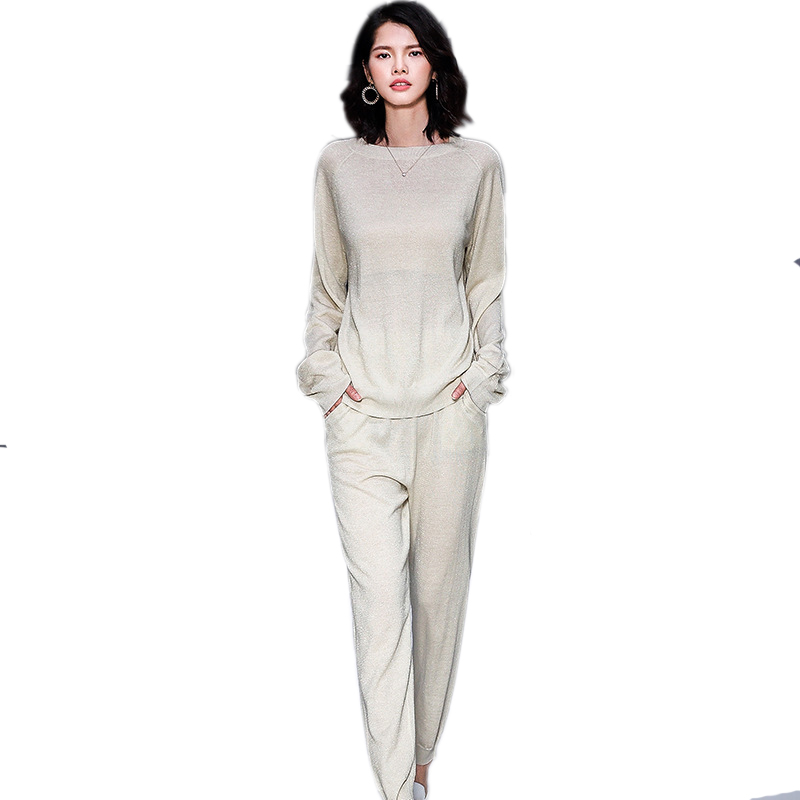 Women Love Letter Print Zip Hooded Coat Pants Two-piece Tracksuits Set  Rapture