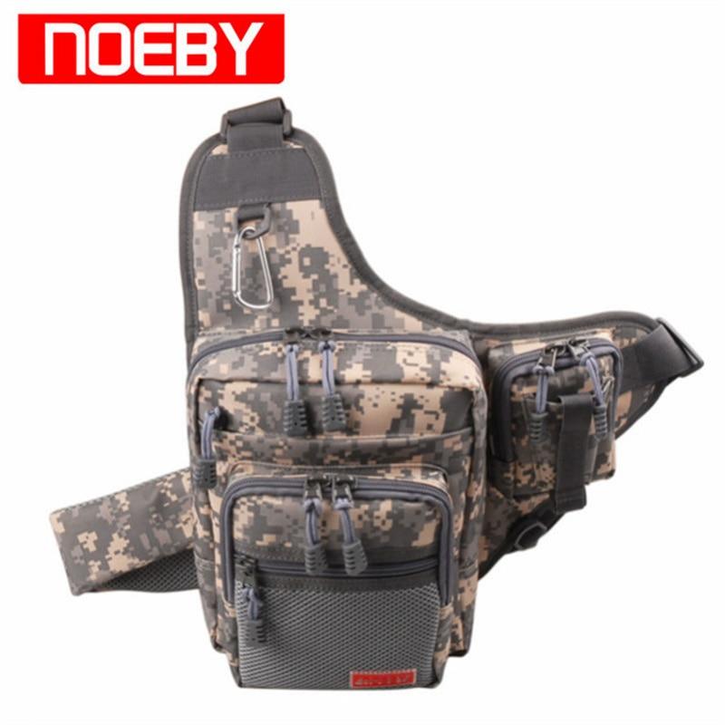 NOBBY 낚시 가방 23X18X8cm 420D PVC 다기능 허리 팩 낚시 태클 Bagpack Bolsa Pesca