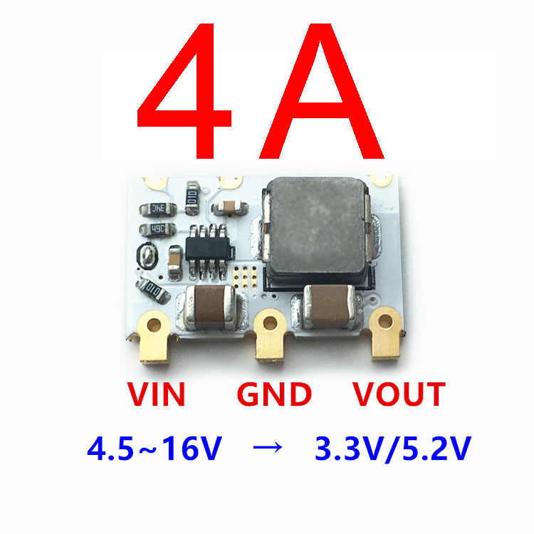 98% 4A Mini DC-DC Buck Converter 6 V-16 V 9 V 12 V untuk 5 V 3.3 V step-Down Power Modul Regulator Tegangan
