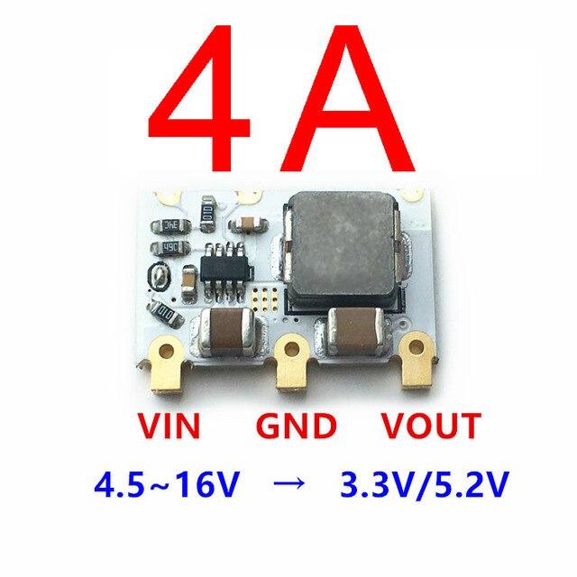98% 4A Mini DC DC Buck Converter 6V 16V 9V 12V to 5V 3.3V Step down Power Voltage Regulator Module