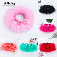 Baby Girl Tutu Skirt Newborn Baby Solid Dance Tutu Skirt For Girls Sequin Tulle Toddler Pettiskirt Children Chiffon 3-24 months