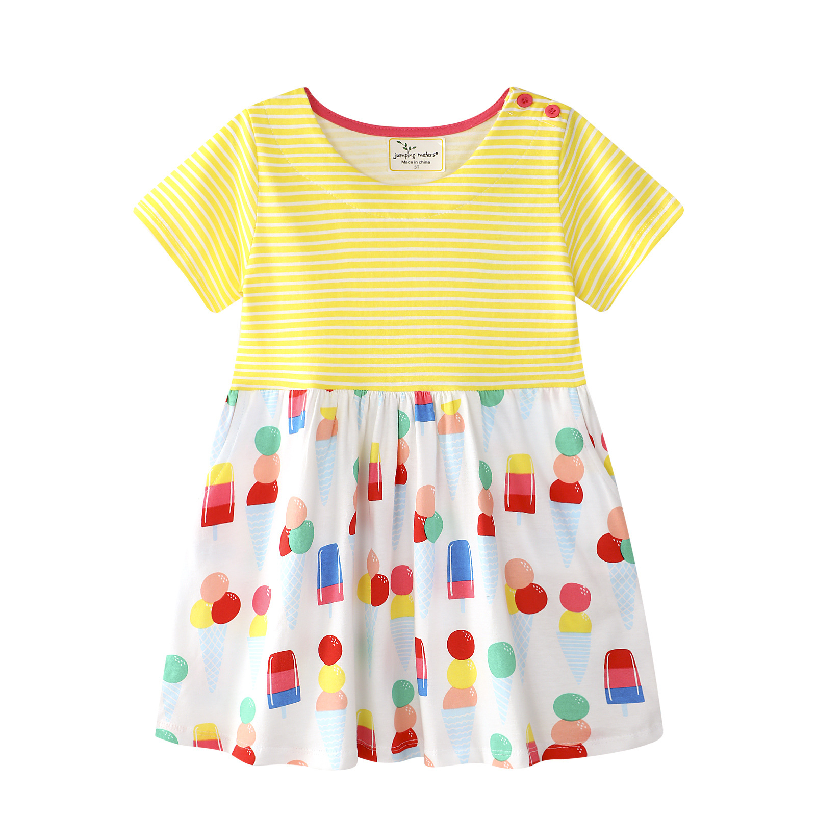 2018 Cotton Party Dresses for Girls Clothes Brand Summer Baby Girl