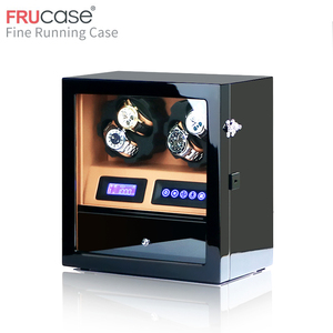 Image 2 - FRUCASE watch winder box watch display watch cabinet watch collector storage with LED touch screen display 4+5