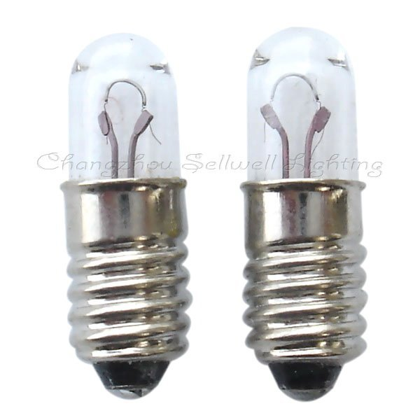 Free Shipping Great!miniaturre Lamp Bulb 6v 1w E5 T5x16 A246