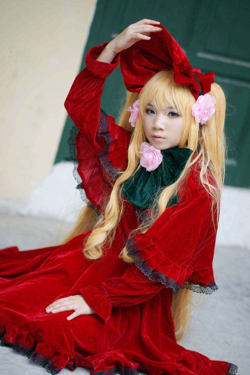 Details about  /Rozen Maiden Gothic Lolita Dress Cos Clothing Cosplay Costume-Custom Made