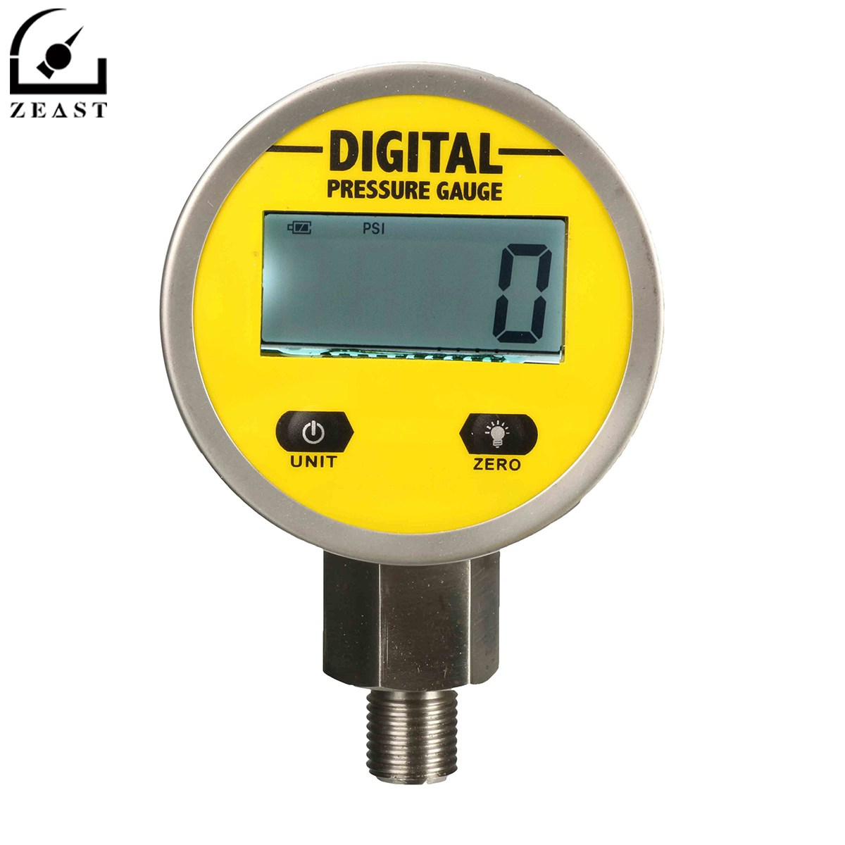 цена на Digital Hydraulic Pressure Gauge 0-250BAR/25Mpa/3600PSI (G/NPT1/4) -Base Entry Gas/Water/Oil Measurement Backlight Tester Meter