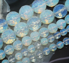 "Fashion 4-14mm Faceted Sri Lanka Moonstone Natural Stone Loose Beads Accessory Parts Fashion Jewelry Making 15"" Wholesale Price"