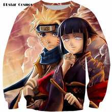PLstar Cosmos brand Sweatshirt Uzumaki Naruto Sweats Women Men Cartoon Jumper Fashion Clothing Tops Outfits size S-5XL
