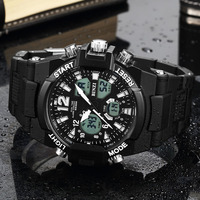 Binziデジタルスポーツワスメンズ腕時計メンズ腕時計トップブランドの高級屋外防水男腕時計レロジオmasculino