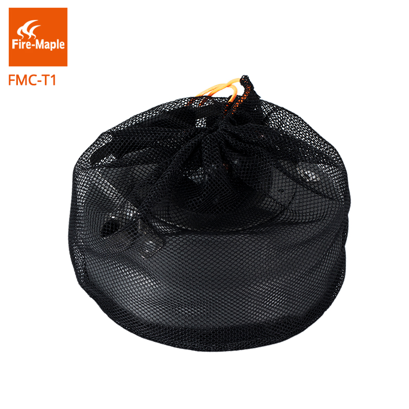 Image 5 - Ультралегкий чайник Fire Maple, уличный, для кемпинга, кофе, чая, кемпинга, туризма, алюминиевый сплав, 0,8Л, с термостойкой ручкой, чайный FMC T1fire maplehiking potcamping pot -