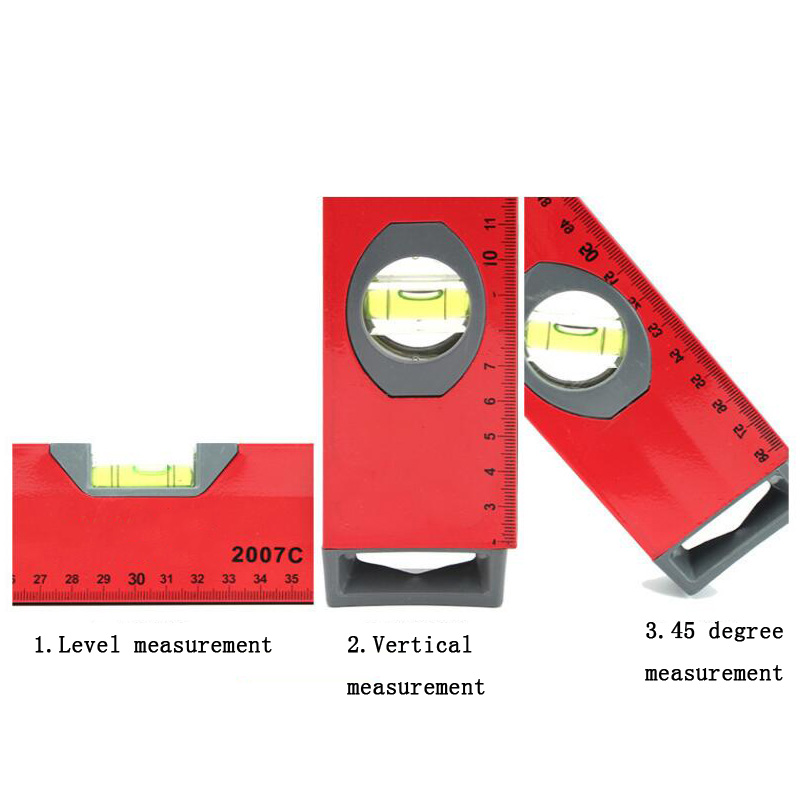 Digital protractor angle ruler measurement standard with strong magnetic double handle handle horizontal angle test scale 1000mm in Protractors from Tools