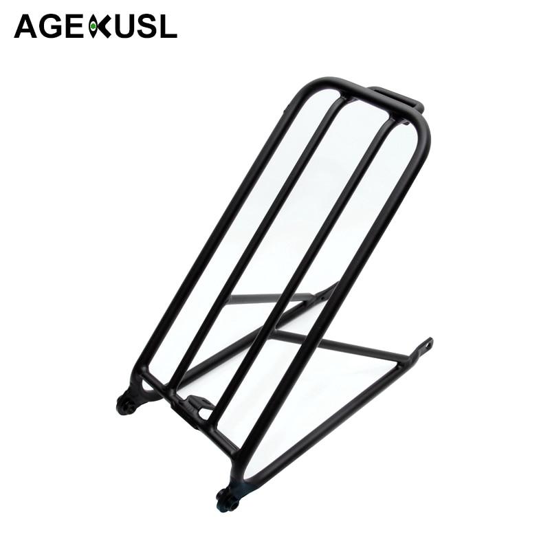Support de cargaison Standard léger de 300g pour le vélo pliant de Brompton support de roue facile en aluminium Mini supports d'accessoires de vélo de cyclisme