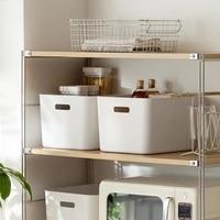 Desktop sundries storage basket plastic finishing basket home kitchen bathroom bedroom storage basket