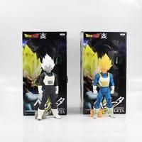 32cm Vegeta PVC Figure Model Toy White And Black Ver Cool Anime Dragon Ball Z 2