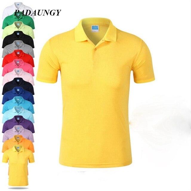 1a4ae0e37b Algodão Camisas Pólo Camisa Polo Ralphmen PADAUNGY Plus Size Tops Uniforme  Bracelona Camisa Roupas de Marca
