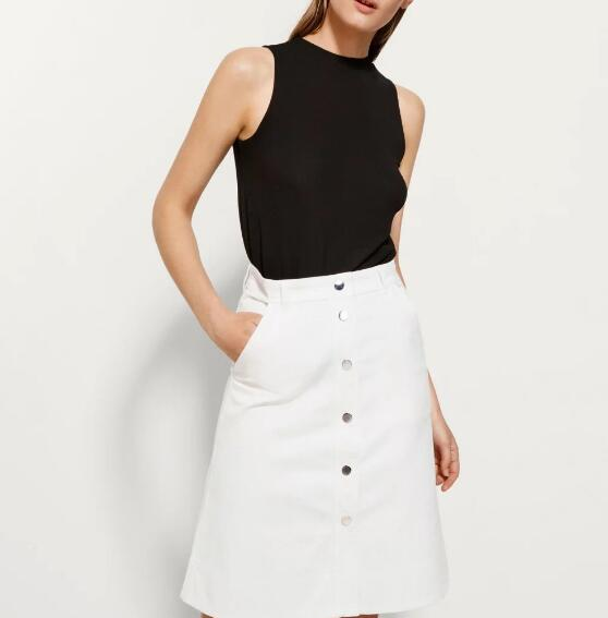 Compare Prices on Long White Denim Skirt- Online Shopping/Buy Low ...