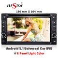 """Универсальный 6.2 """"2 Din Android5.1 авто Радио Стерео-Плеер С dvd media GPS navi Bluetooth 3 Г Dongle WIFI DAB D-ТВ DVR OBD 2"""