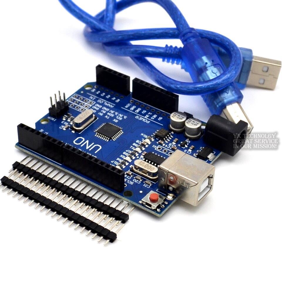 UNO R3 ATmega328P CH340G USB Driver Board & USB Cable For Arduino DIY