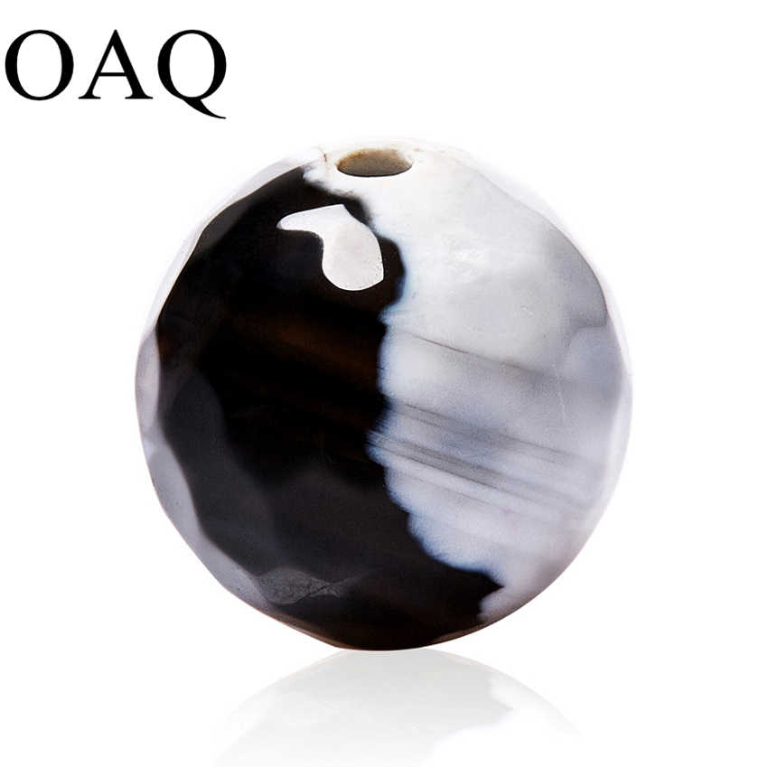 סיטונאי 8/10mm פיאות טבעי אבן אש קרנליאן אוניקס חרוזים אבני חן עגול כדור Loose חרוזים להכנת תכשיטים מתנה