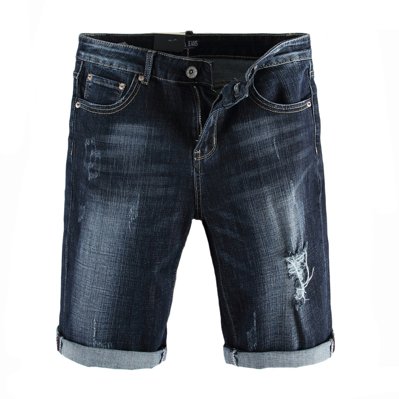 Italian Style Fashion Mens Jeans Shorts Summer Streetwear Denim Ripped Jeans For Men Shorts Dsel