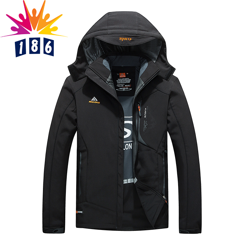 2017 new winter jacket men s waterproof windproof warm coat jacket men s fashion casual soft