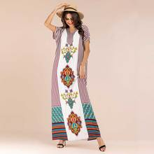 Summer Elegant Ethnic Women Maxi Dress R