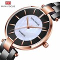 Женские кварцевые наручные часы MINIFOCUS  брендовые роскошные женские наручные часы  Relogio Feminino