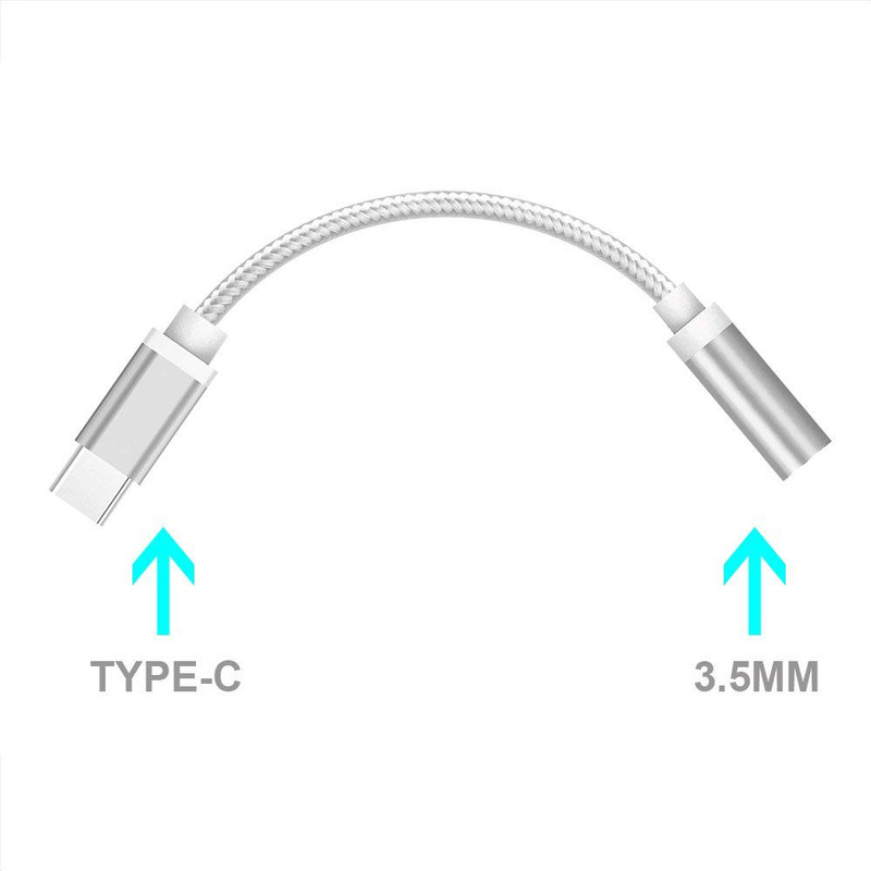 Cable Adapter USB-C To 3.5mm Communication Cable For Xiaomi USB Cable For Xiaomi Redmi Note 5 USB Type C To 3.5 Mm Cable Adapter