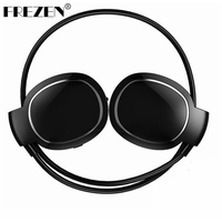 FREZEN Mini Level Wireless Bluetooth Headphone Headset Touch Screen Waterproof Sport Noise Canceling With Microphone For