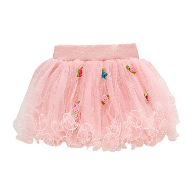2b86d3a73 € 2.92 16% de DESCUENTO|Las niñas pettiskirt bebé tutu faldas de tul Rosa  puffy falda Niño/corta infantil falda pastel niños princesa en Faldas ...
