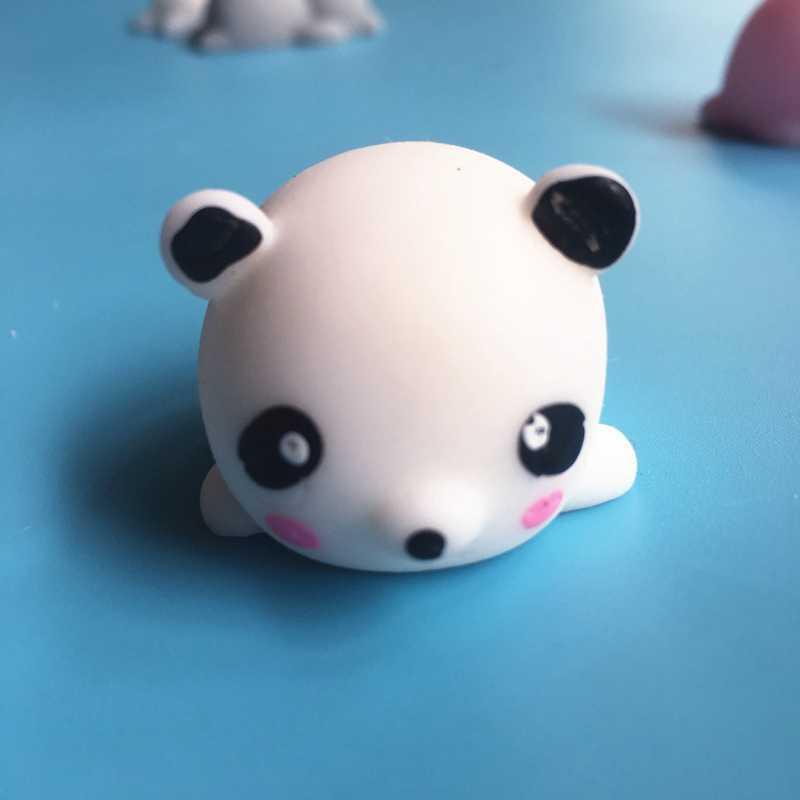Сжимающиеся болотного цвета игрушки антистресс декомпрессионное отверстие маленькие животные милая фигурка животного игрушка заживляющая сжимаемая Забавная детская мягкость новинка игрушки