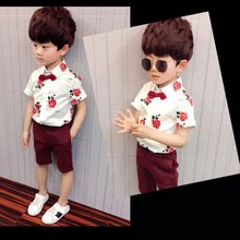 New Baby Summer Fashion Boy Clothing