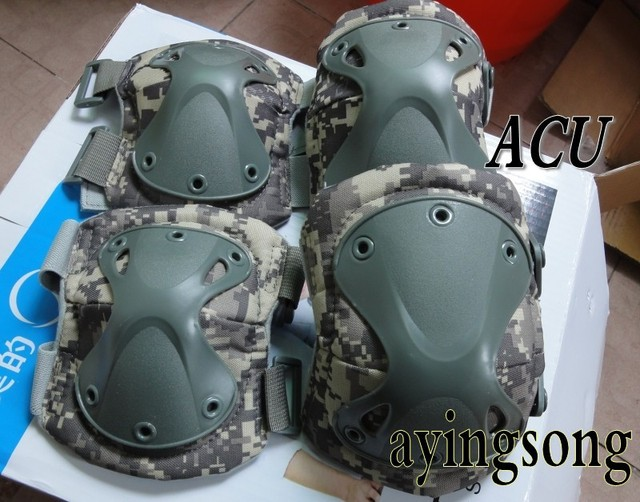 2014 new Tactical paintball protection , knee pads & elbow pads set  Free shipping