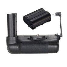 JINTU Топ Мощность Вертикальная Батарейная ручка держатель для Nikon D7500+ декодирование EN-EL15 2200 мАч батарея комплект DSLR камера