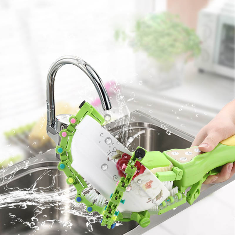 Best Selling 2018 Handheld Portátil Artefato Mini-tigela de Lavar Louça Máquina de Lavar Louça Cozinha de Casa Inteligente máquina de Lavar Purificador de Spin