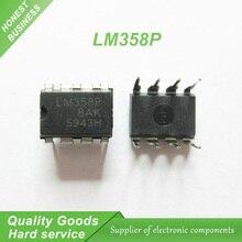 10 pcs LM358 LM358P DIP-8 Amplificadores Operacionais-Op Amps Dual Op Amp original novo