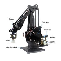 Насос механический рука робота присоски моделирование промышленности манипулятор стекло волокно стенд с полный цифровой серво