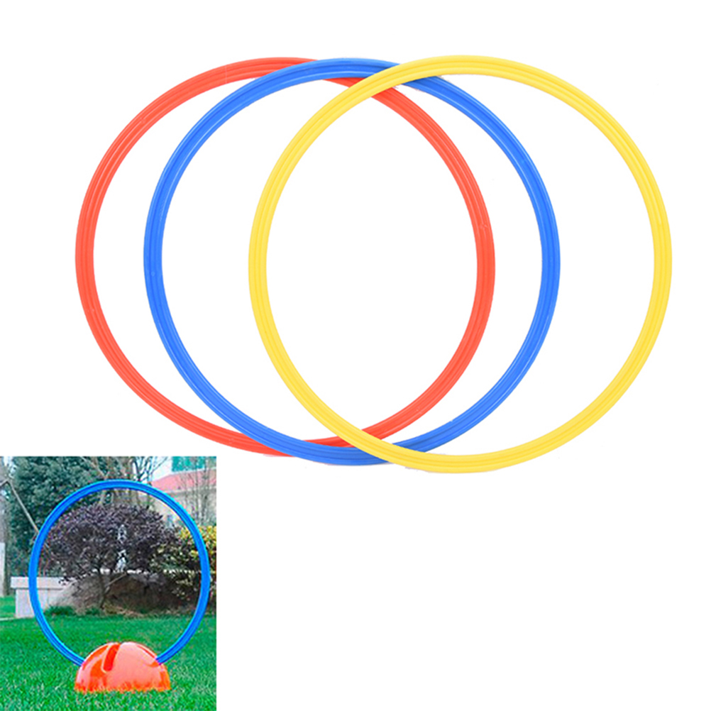1PC Speed and Agility Training Ring Sport Training Aid Soccer Football Control Skills Speed Rings 40cm(dia)