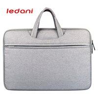 Ledani Brand Waterproof Crushproof 14 Inch Notebook Computer Laptop Bag For Men Women Briefcase Shoulder Messenger
