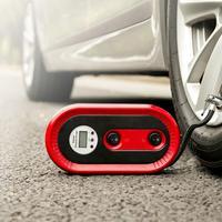 Auto Portable 12V 120W Electric Compact Air Supply Compressor Pump Digital Tire Inflator car repair tool
