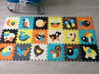 Mei Qi Cool Baby Play Mat Animal Puzzle Mat