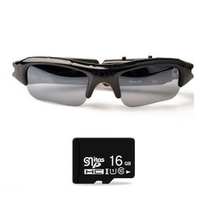 Image 1 - Lightdow Mini Occhiali Da Sole Occhiali Digital Video Recorder Macchina Fotografica di Vetro Mini Videocamera Video Occhiali Da Sole DVR