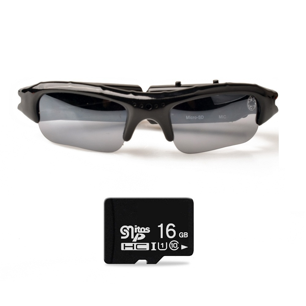 606f717e621 Click to enlarge. HomeShopCamera and Security systemSpy CameraHidden camera  Lightdow Mini Sunglasses Eyewear Digital Video Recorder